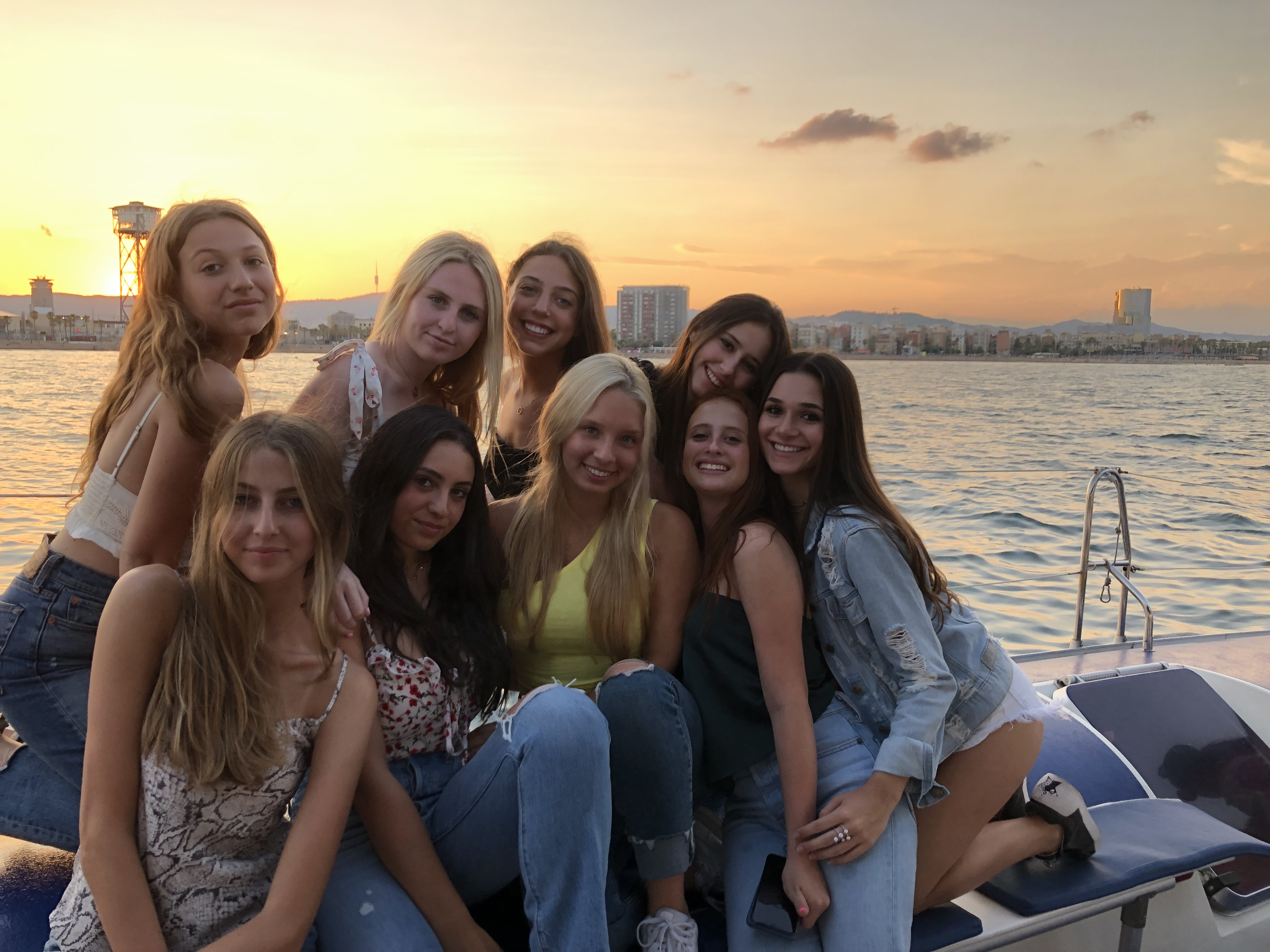 ACA summer fun on a boat
