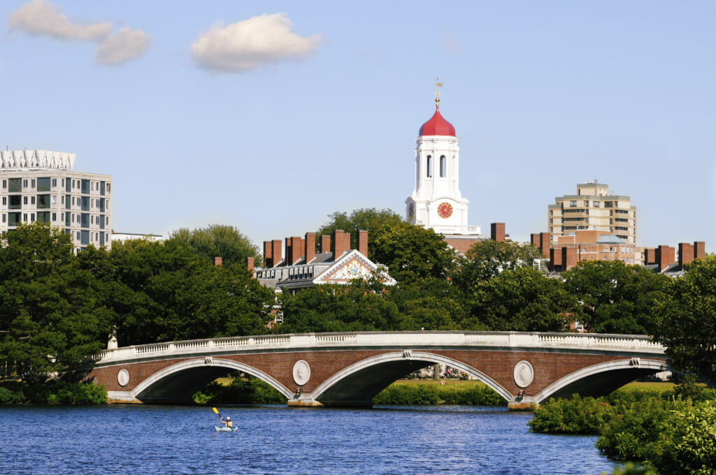 Harvard University Charles River in Cambridge, Massachusetts