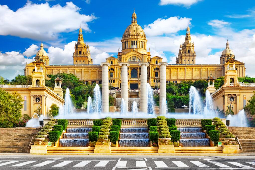 Palau Nacional, Barcelona, Spain