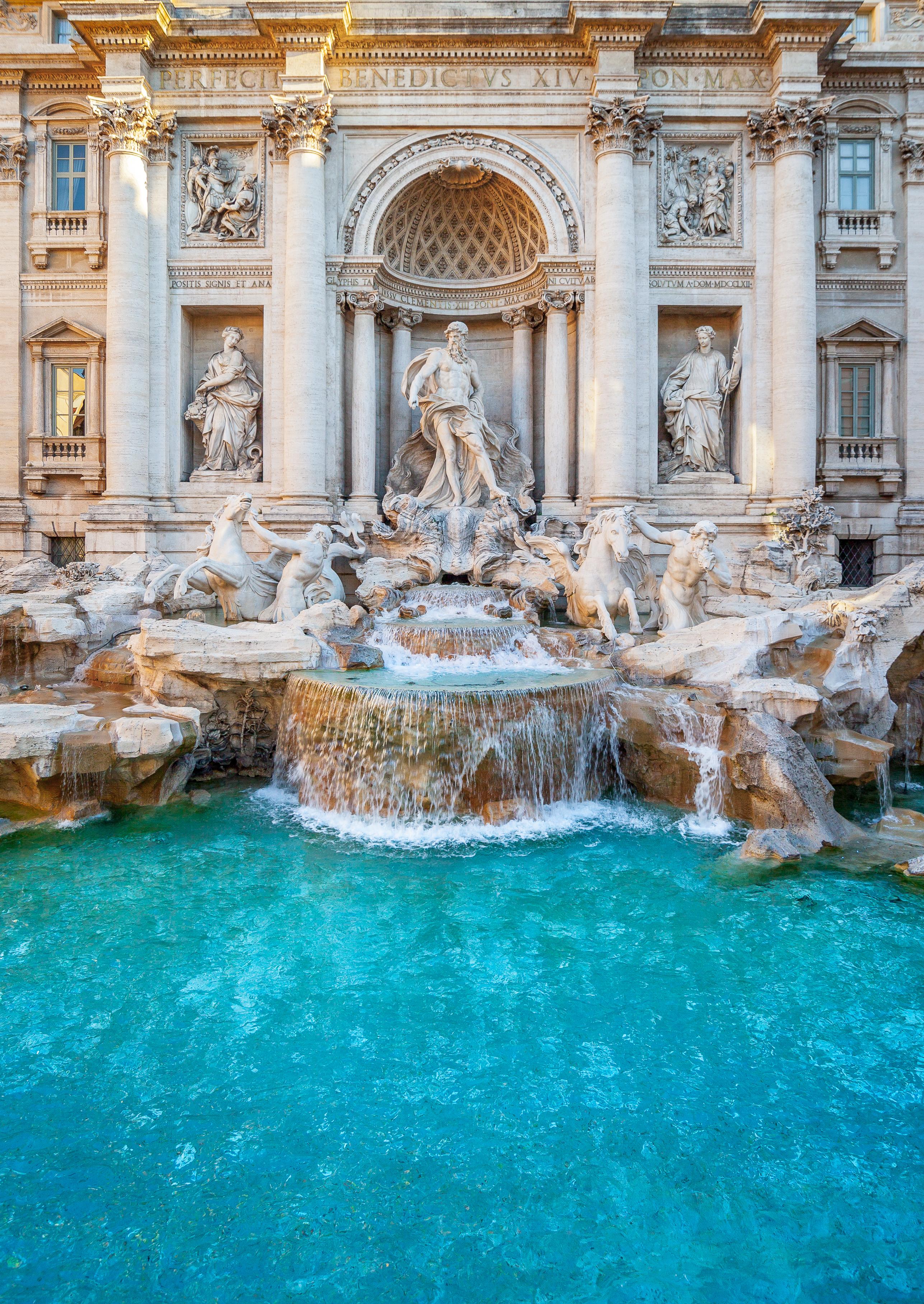 Trevi Fountain Rome Italy Pre College Summer Program
