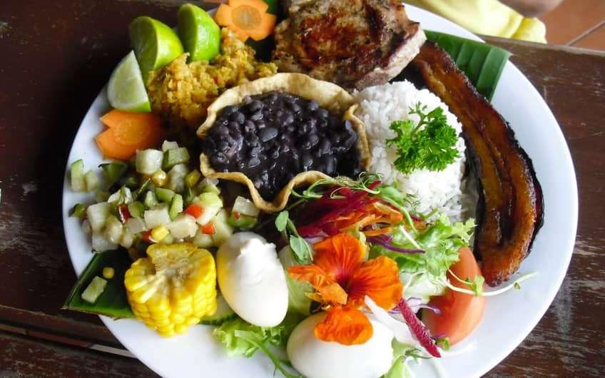 Casado Costa Rican Dish
