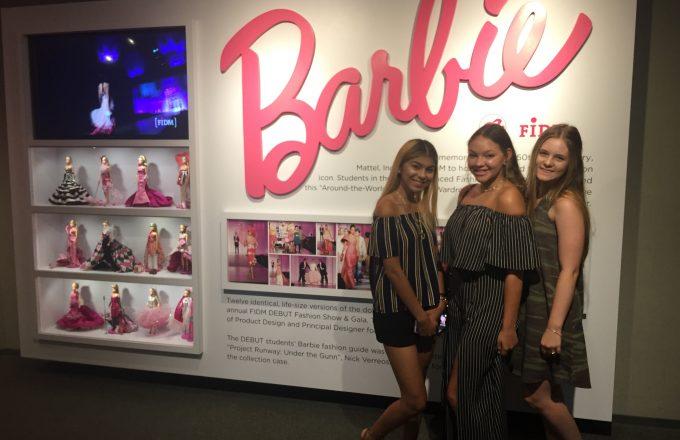 Barbie magic in LA