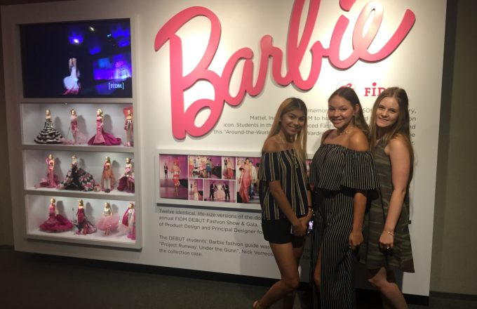Barbie magic in LA