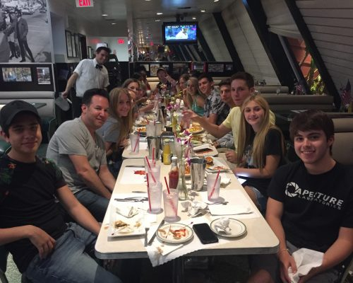 ACA Summer group dinner