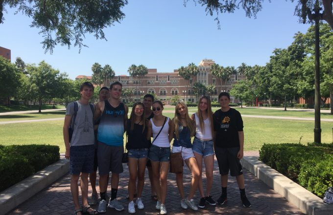 Summer UCLA Campus Life
