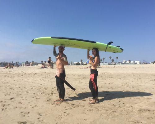 ACA summer surf day