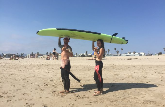 SoCal High School Pre College Program Surfing