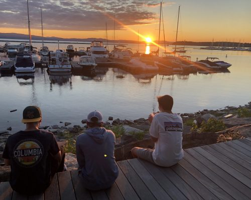 Sunset in Burlington, Vermont Pre-College Summer Program
