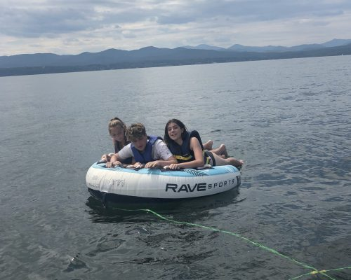Tubing in Vermont