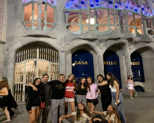 Casa Batlló Gaudi Barcelona Spain Study Abroad Program