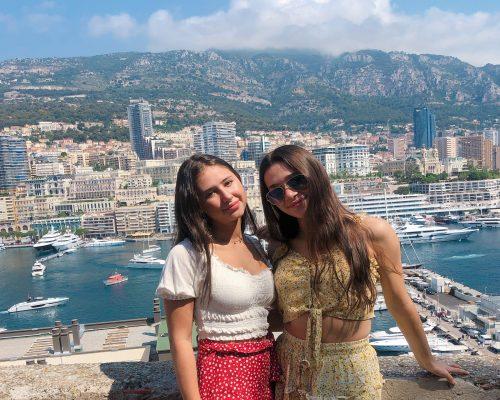 Girls in Monaco France