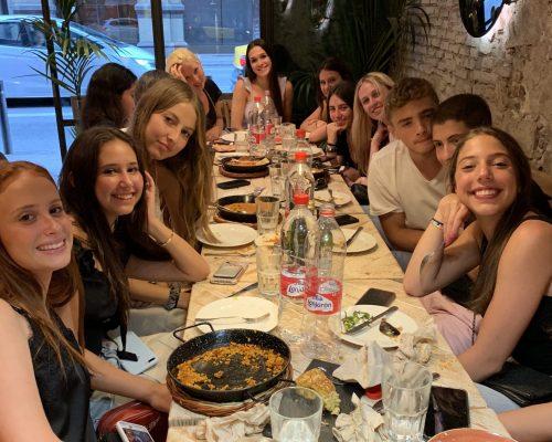 Tapas dinner in Barcelona Spain
