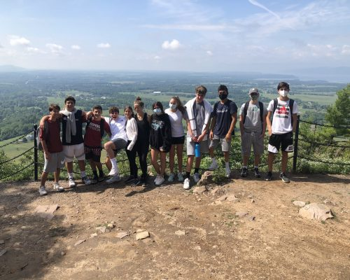 Students Hiking at Pre-College Summer Program in Burlington, Vermont