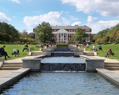 University of Maryland McKeldin Quad 2