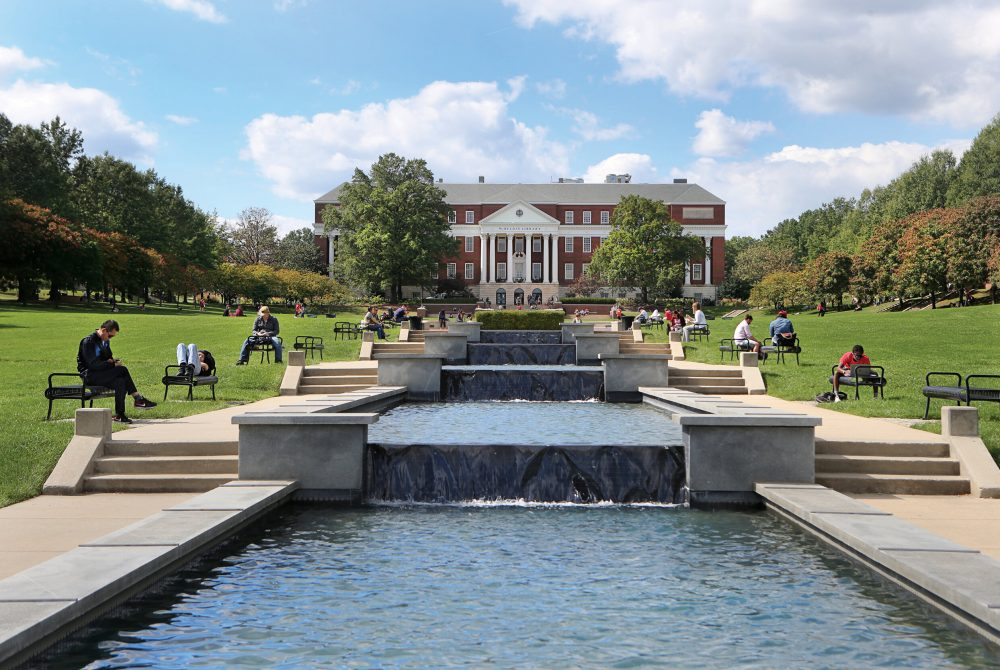 University of Maryland McKeldin Quad 2