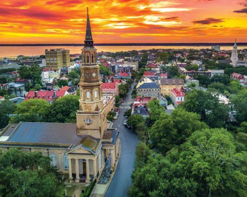 Charleston SC skyline