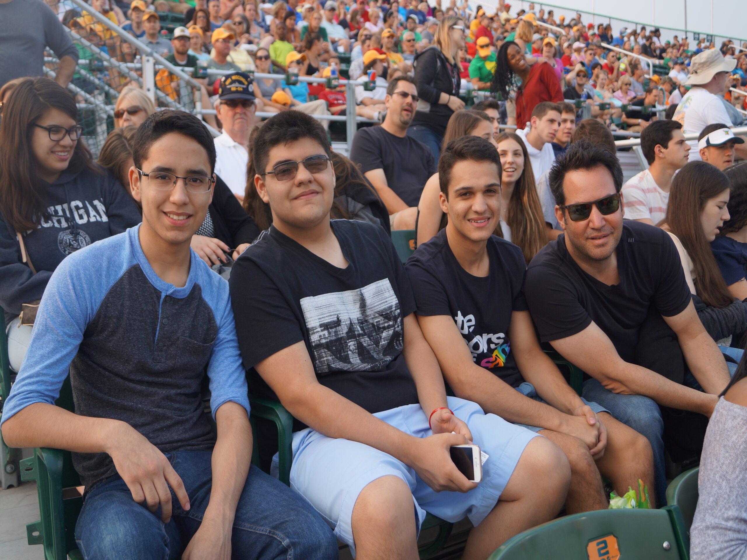 ACA high school Summer Programs Baseball Game