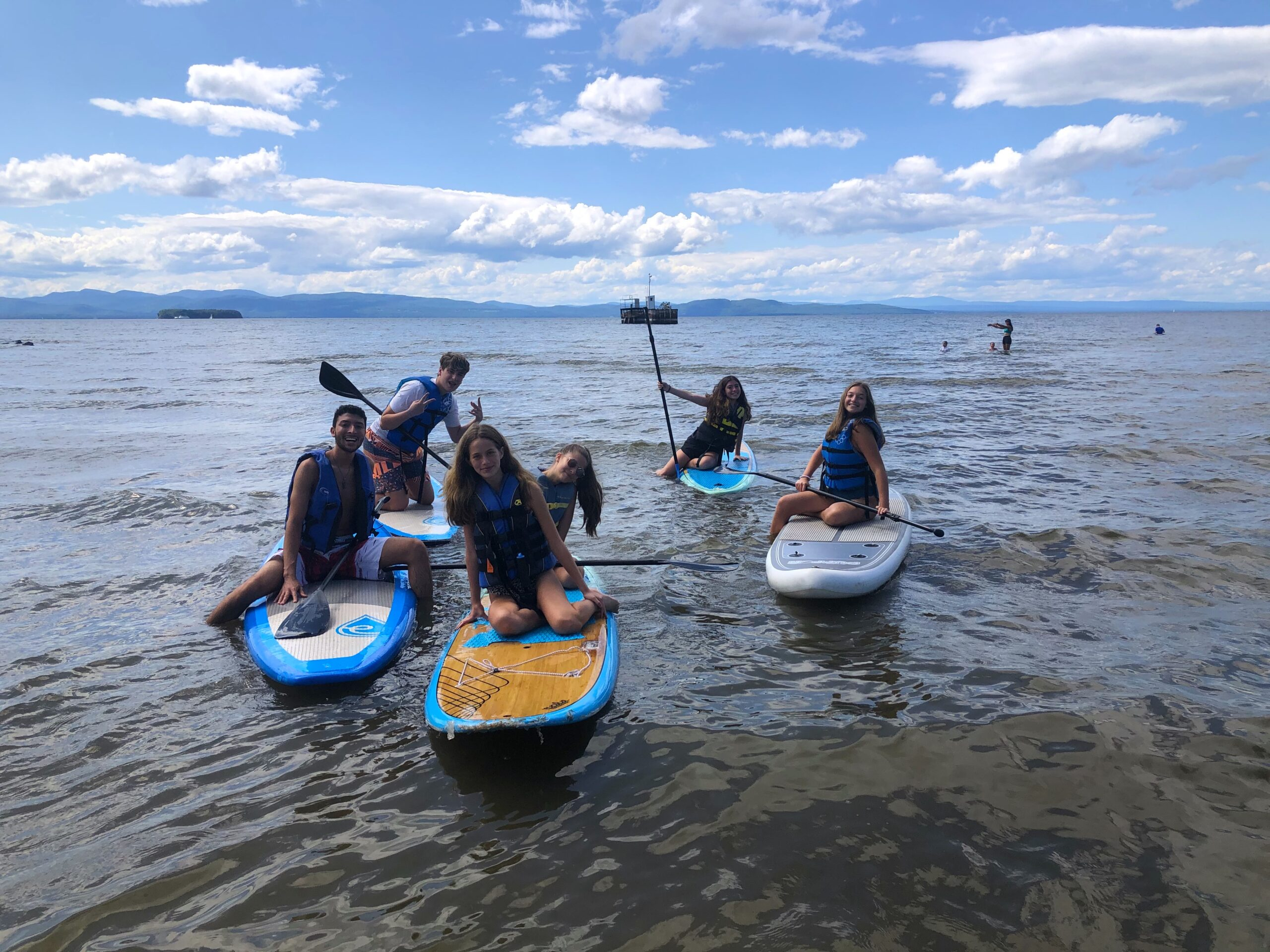 paddle boarding fun