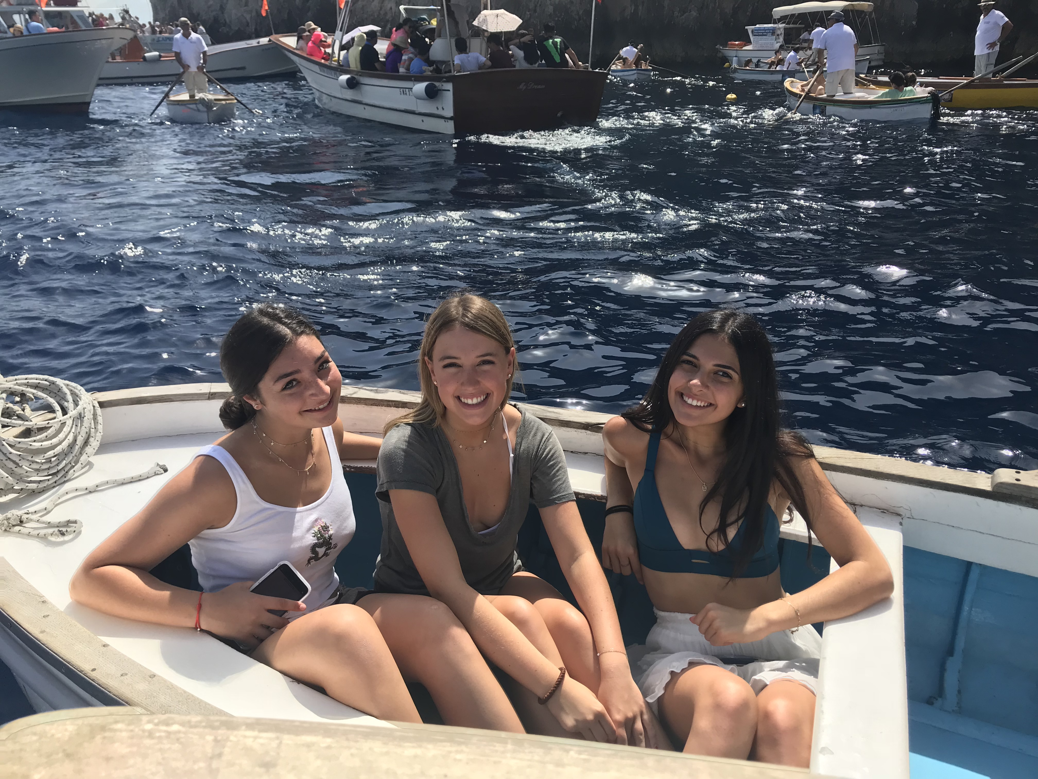 High School Summer Study Abroad in Italy Blue Grotto Capri