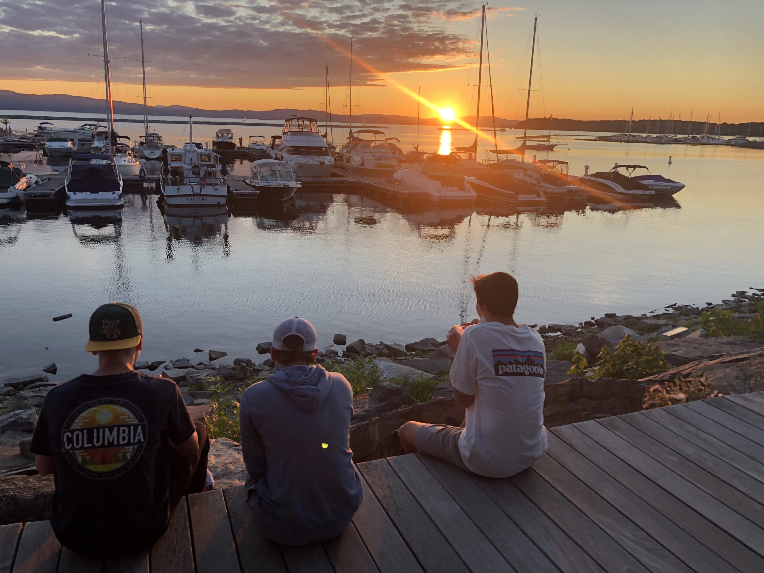 Sunset in Burlington, Vermont Pre-College Summer Program