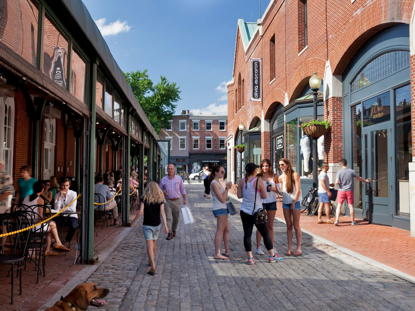 Downtown Georgetown Shopping